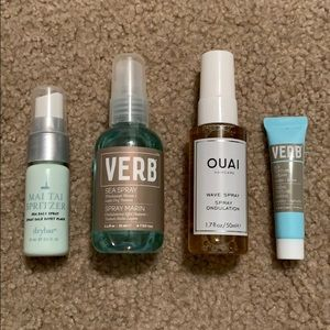 Bundle of hair-care products